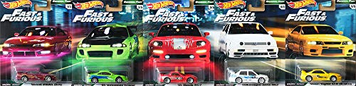 Hot Wheels Fast & Furious Premium Original Fast Set 5 Modellautos 1:64 GBW75