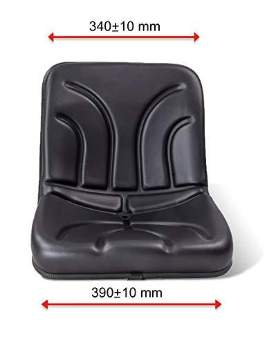KLARA SEATS Sitzschale 395mm Schmalspursitz Weinberg Schlepper Schubmaststapler Minibagger (Krieger Mitsubishi)