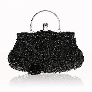 WZW Donna Poliestere Formale / Casual / Serata/evento / Matrimonio / Ufficio e lavoro / Shopping Borsa da sera . gold black