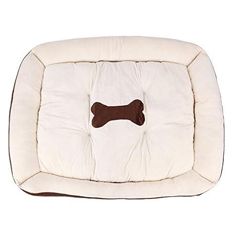 Iglobalbuy Deluxe Panier pour animal domestique souple confortable pour animal domestique Tapis Coussin Lit pour chiens et chats