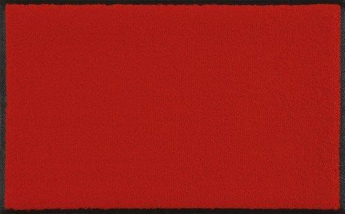 WASH+DRY - ALFOMBRA  SCARLET 40X60  ROJO