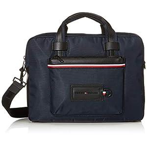 Tommy Hilfiger Herren Modern Nylon Conv Computer Bag Schultertasche, 10x30x40 centimeters