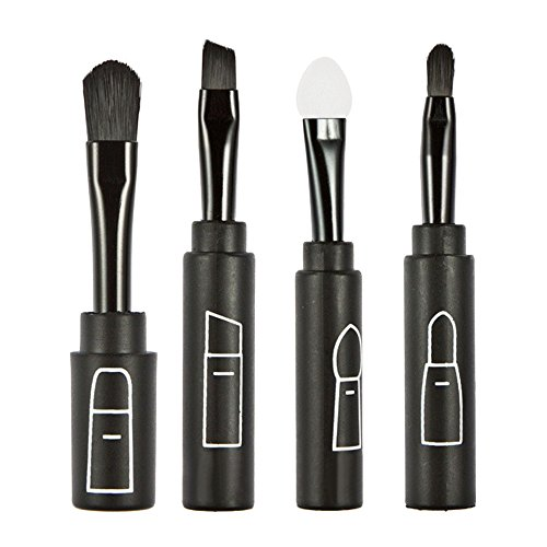 Ruiting Beauty Multi Function Cosmetic Brushes Set Outils de Maquillage BLACK