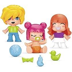 Pinypon- Niños y Bebés, Pack D (Famosa 700014032)