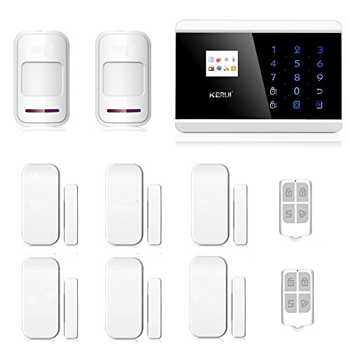 ABTO GSM Alarm System Wireless Burglar Alarm System with Door Alarms for Home and Motion Sensor Door Alarm House Alarm