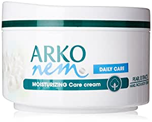Arko Nem pearl touch face,hand and body cream for daily use 300 ml