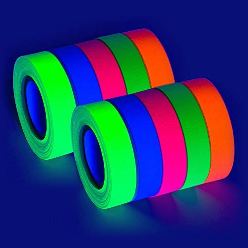 Paquete de 10 reactivos a la luz UV negra