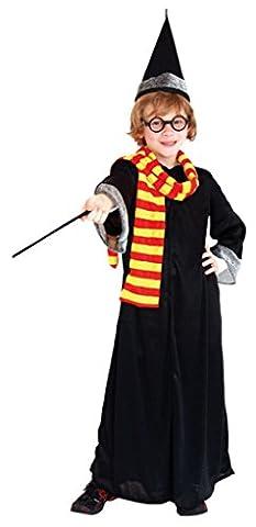 Y-BOA Déguisement Panoplie Hermione Costume Gryffondor Halloween Cosplay Enfant 10-12ans