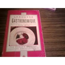 Larousse Gastronomique by Prosper Montagne (1990-04-05)