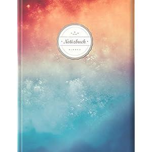 Blanko Notizbuch (©Star, A4, 156 Seiten, Softcover)    Mit Register + Seitenzahlen    Leeres Notizheft zum Selbstgestalten, Zeichenbuch, Skizzenbuch, Blankobuch, Malbuch