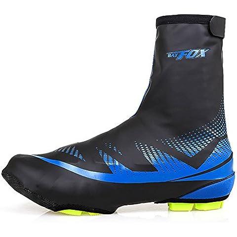 Shinmax Cubierta de Zapatos, Zapatillas de Ciclismo para Deportes al Aire Libre Zapatillas para Calzado Impermeable para Calzado Bota de Calzado para Hombre Mujer MTB Ciclismo para Bicicleta de Invierno Ciclismo Mountain Road Toe