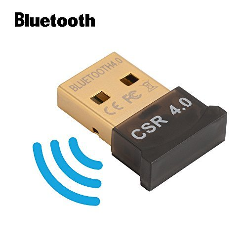 Bluetooth 4.0 USB Dongle Adaptador CSR 4.0 Receptor inalámbrico Bluetooth para PC Windows 10/8/7 / XP / Vista AC827