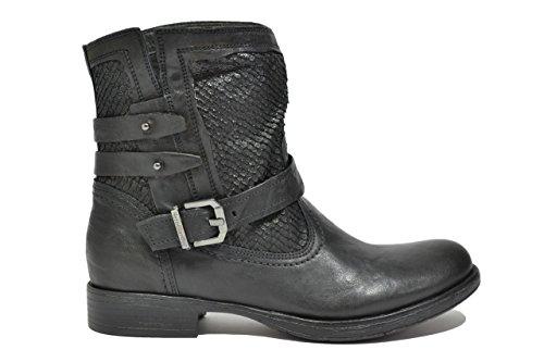 Nero Giardini Tronchetti scarpe donna nero 6000 A616000D 37
