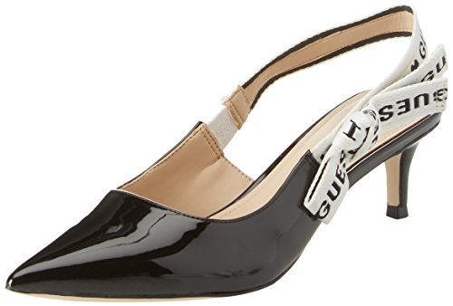 Guess Damen Footwear Dress Sling Back Pumps, Nero (Black), 37 EU