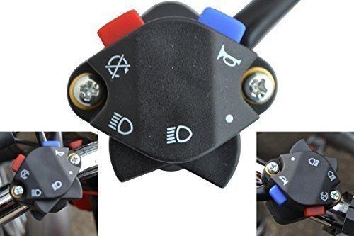 Interruptor Luces Claxon Apagado para Moto de Motocross Enduro para Manillares de...