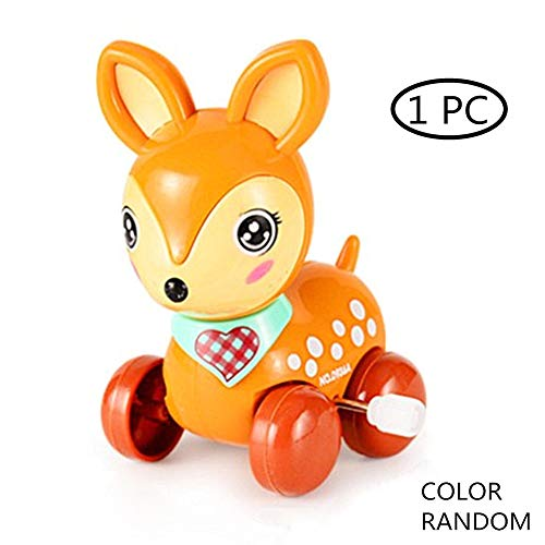 Kleinkind ToysCars Spaß Spielen Spielzeug Kinder Spielzeugautos Baby Geburtstag Geschenk Spielzeug Verspieltes Pull-Spielzeug Für Beginner Spaß Sikawild Ziehen Spielzeug Entlang sika Deer -