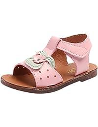 695f06a43aa01 OHQ enfant Fille Lapin Oreilles Sandales Chaussures de Plage Blanc Jaune Rose  Enfants Kid Girls Rabbit