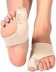 Orthopedic Bunion Corrector Silicone Hallux Eversion Corrector Big Feet Toe Eversion Split Toe Separator Correction Set (S)