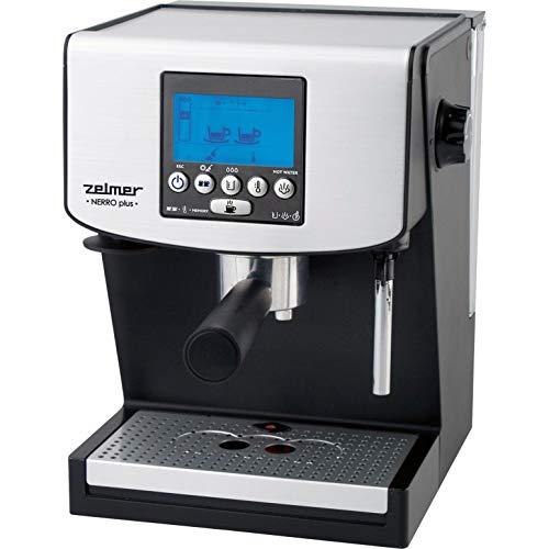 Zelmer 13Z016 Libera installazione Macchina per espresso 1.5L Nero, Grigio macchina per caffè