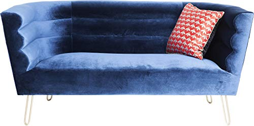 Kare Design Monaco Blue 2-Sitzer Sofa, 160 cm
