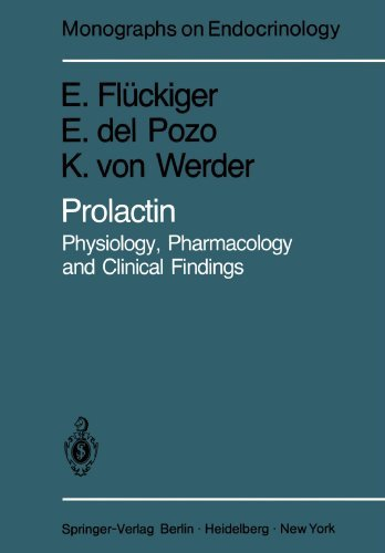 Prolactin: Physiology, Pharmacology and Clinical Findings (Monographs on Endocrinology) by Edward W. Fl?ckiger (1981-01-01)