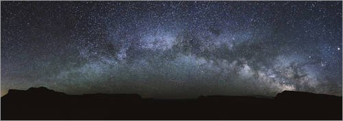 poster-110-x-40-cm-panoramic-of-the-milky-way-arch-in-the-sky-united-states-di-matteo-colombo-stampa