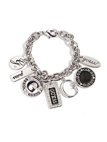 Guess-bracciale-donna-silver-tone-Enamel-piatti