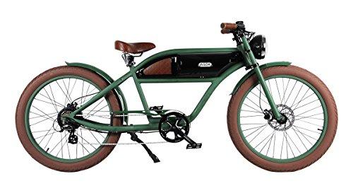 Michael Blast E-Bike Cruiser E-Fahrrad Greaser green-black