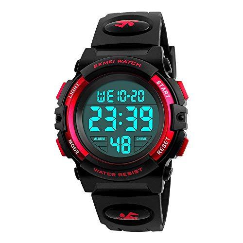 SoKy Geschenke für 6-11 Jahre alte Mädchen, LED 50M wasserdichte Sport-Digitaluhren für Kinder Einzigartige Geschenke für Jungen von 6-15 Jahren Elektronisches Spielzeug für Jungen von 6-15 Jahren (Alten Geschenke Die Sechs Jahre Jungen Für)