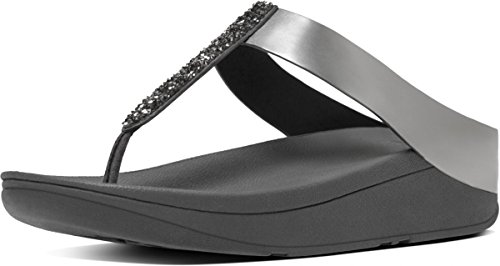 Donna Fitflop Halo Con Sandali Plateau Sandals Toe Thong w0RUAqx0v