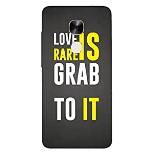 GripIt LOVE IS RARE Printed Casefor LeEco Le2 Pro