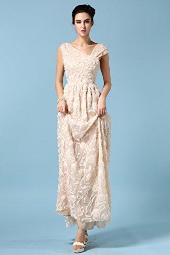 Babyonlinedress Elegant Robe de soirée/Cérémonie Longue avec motif Identique à la photo