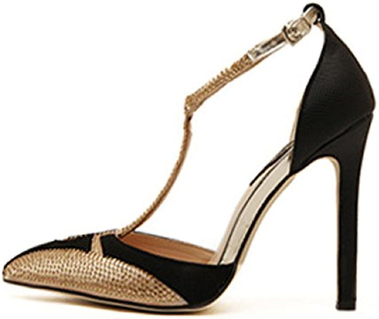 4d01a083103d65 la femme a été fait des chaussures à talons talons talons haut colorblocked  sexy pour des sandales à strass travaux b07d3tw36j parent | Pour Gagner  L'éloge ...