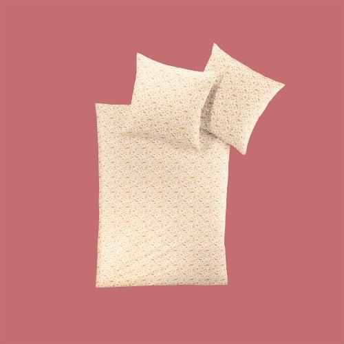 Irisette Mako-Satin Bettwäsche Primus honig Bettbezug einzeln 135x200 cm (Honig Bettbezug)
