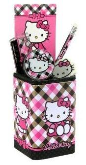 Hello Kitty - Pot Papeterie Garni Hello Kitty