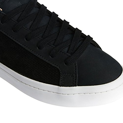 Pérola Preto Negra Originals Courtvantage Formadores Pó Núcleo Adidas Tng1IqT