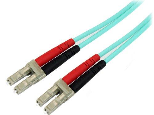 StarTech.com 3m 10 Gb Aqua Multimode 50/125 Duplex LSZH Fiber Patch Cable LC - LC lowest price