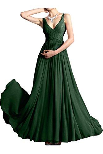 Missdressy - Robe - Plissée - Femme Vert foncé