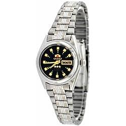 Orient # bnq1X 003B Damen Tri Star schwarz Zifferblatt Automatik Uhr