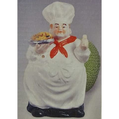 Fat Chef Scouring Pad Holder with Brillo Pad by KMC/KK-Chef