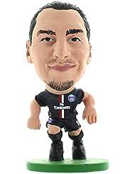 Soccerstarz - 400064 - Figurine Sport - Officiellement Autorisé De Zlatan Ibrahimovic Dans Le Maillot Officiel Du Paris St Germain