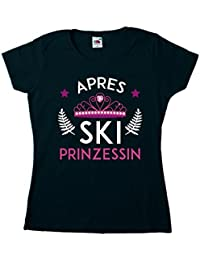 Apres Ski Prinzessin - Fun - T-Shirt Damen