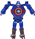 Sandbox Party Captain America Transformer Inspired Robot Cum Watch (Pack of 1)