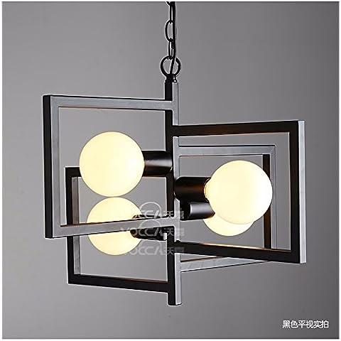 Quietness @ Loft a soffitto Nordic Light Designer contemporanei di