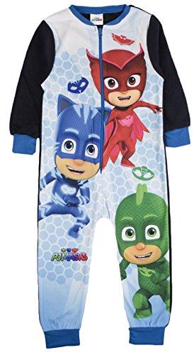 Marvel -  pigiama interi  - maniche lunghe  - ragazzo pj masks 2-3 anni
