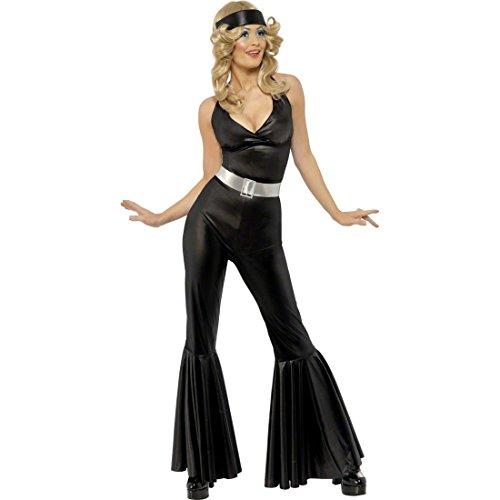 NET TOYS Costume Carnevale donna: diva disco dancing anni 70 -