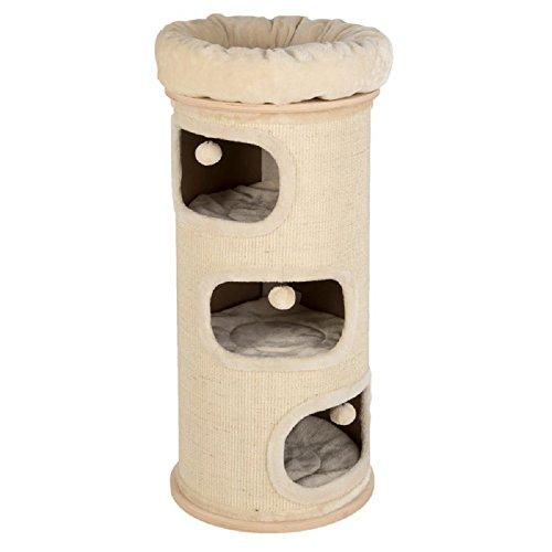 El paraíso natural arañazos barril, XXL-Estándar En Un Atractivo sistema de color neutro proporciona el lugar perfecto para su gato a jugar y relajarse. El robusto cuerpo de arañazos cuenta con cuatro zonas de dormir acogedor en diferentes niveles,...