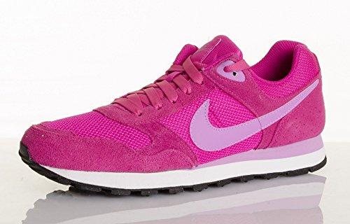 Nike Wmns Md Runner, Scarpe sportive, Donna Fuchsia Flash/Fuchsia Glow-Wht