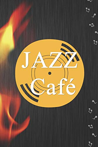 Jazz Café: Blank Lined Notebook ( Jazz ) Black
