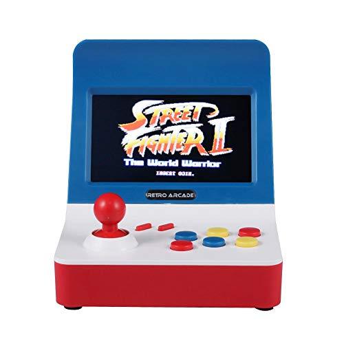 Widewing A7 Spielekonsole, Retro, klassischer Spieler, 32 Bit, eingebaut, 520 Spiele Unterstützung, TF-Karte A8 Game Console (Karte-spiel Spielautomat)
